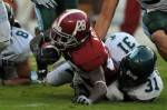 Alabama-Tulane photograph by D. Brown/Southern Sports Media