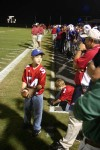 Ball boys at Homewood vs Bob Jones game