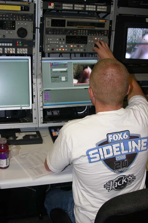 Sideline on Fox 6 takes a lot of teamwork
