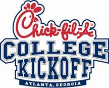 Alabama played West Virginia in the Chick-Fil-A College Kickoff. The Tide won 33-23.