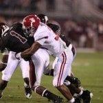 Chris Jordan Alabama Football at Mississippi State – Photos courtesy of UA Athletic Media Relations