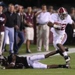 Mark Ingram Alabama Football at Mississippi State – Photos courtesy of UA Athletic Media Relations