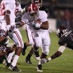 Trent Richardson Alabama Football at Mississippi State – Photos courtesy of UA Athletic Media Relations