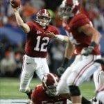 Dec. 5, 2009 SEC Championship Alabama vs. Florida (via UA Media Relations)