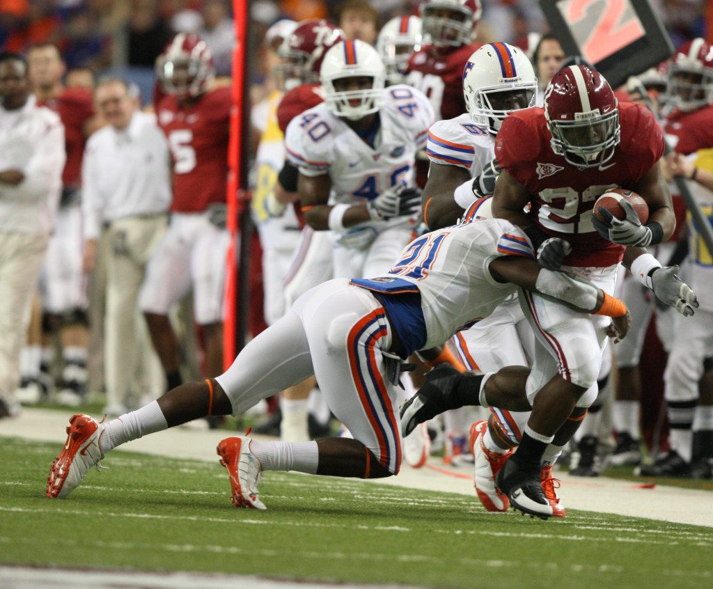 It was 2009 when Florida faced Alabama in the SEC Championship. Can Will Muschamp get Florida back? (via UA Media Relations)