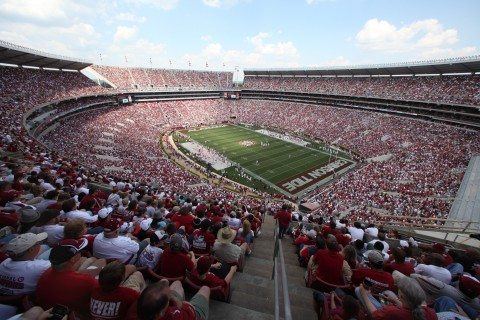Alabama Crimson Tide A-Day Game notes