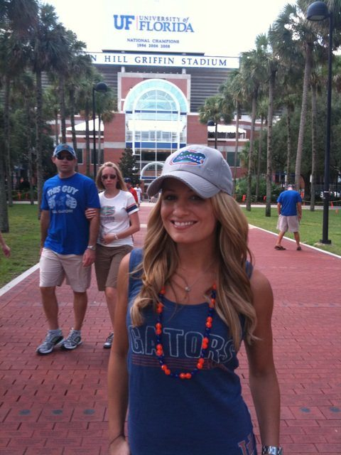 Jenn Brown is a hot Florida Gator. Just how hot are the Gators chances this year? Find out in our 2013 Florida Gators Football Preview