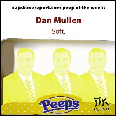 Dan Mullen, capstonereport.com's Peep of the Week