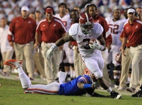 Alabama vsFlorida: Alabama running back Trent Richardson (3) Photo by Kent Gidley/Alabama