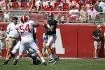 Alabama Football A-Day Quarterback A.J. McCarron