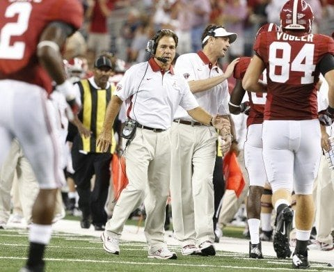 Alabama football coach Nick Saban spoke about the Alabama vs Ole Miss game.
