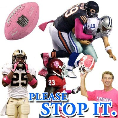 Stop the pink in football