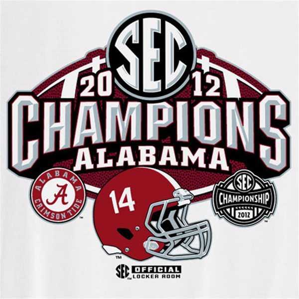 Alabama Fan Gift Guide Sec Championship Shirts Hats: alabama sec championship shirt