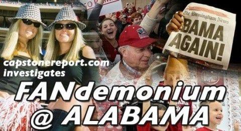 fandemonium at Alabama