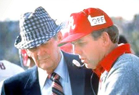 "Coach Paul ""Bear"" Bryant and Mal Moore"