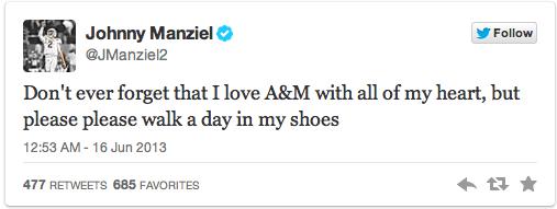 Manziel tweet 2