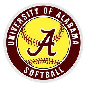 Alabama-softball-logo