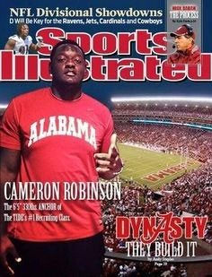 Bama's #1 overall OL prospect from the 2014 class