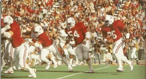 This from 1983 vs Southern Miss at Legion Field