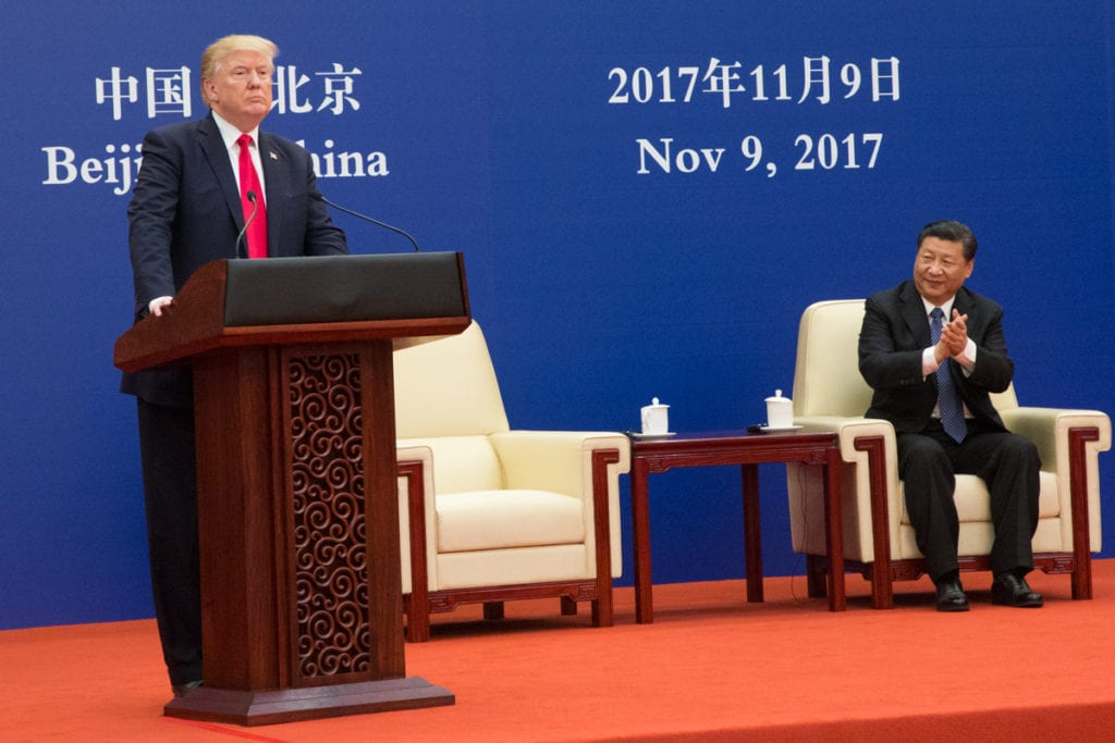 President Donald J. Trump's trade policy forced China into error as Xi decides on 'socialism or bust.'